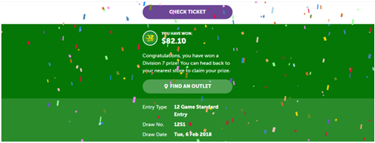 How to check Australian lottery result