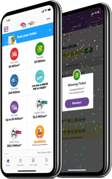 How to check your lottery tickets using the Lott App?