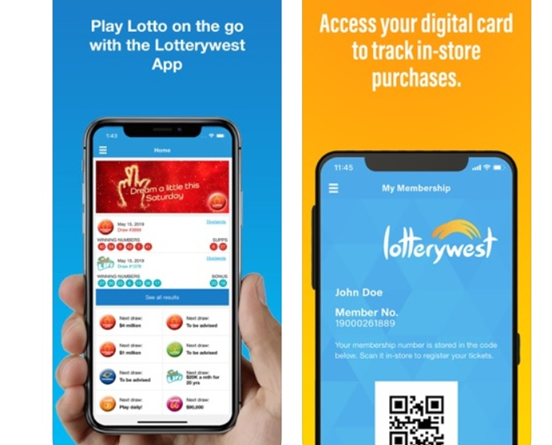 How to download Lotterywest App to play lotteries?