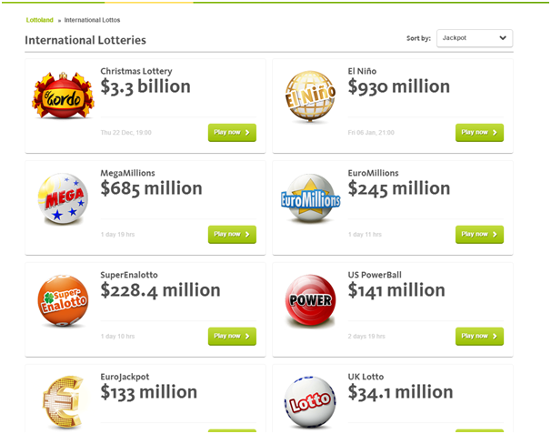 Lottoland International Lotteries