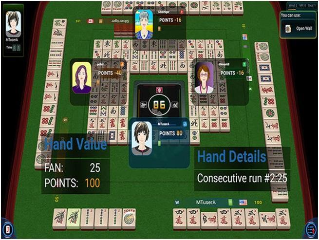 Mahjong TIme player