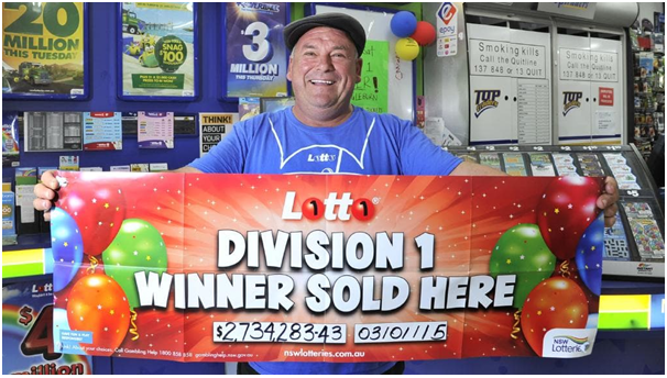 NSW lotteries Winner