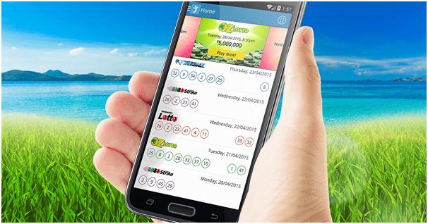 Oz Lottery App