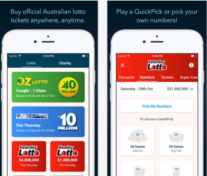 Oz lotto app
