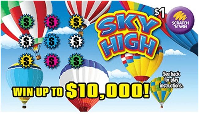 Sky High Scratch