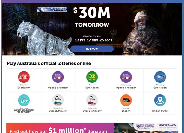 Which lotteries can you play with Multi Week and Advanced Entries in Australia?